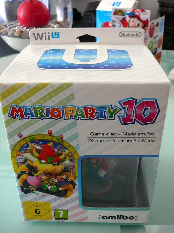 Mario Party 10 Edition Amiibo Mario