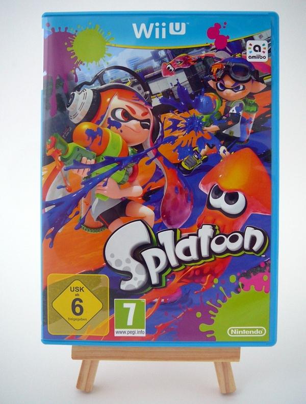 Splatoon Edition Amiibo Squid