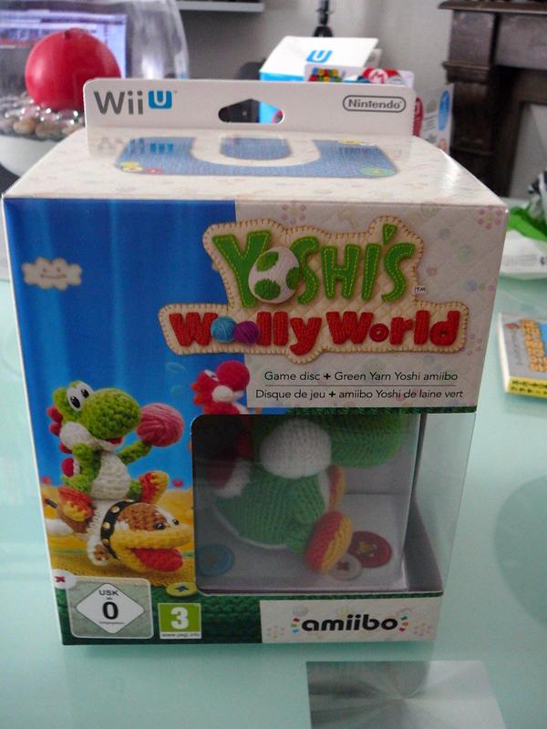 Yoshi's Woolly World Edition Amiibo Yoshi Laine Vert
