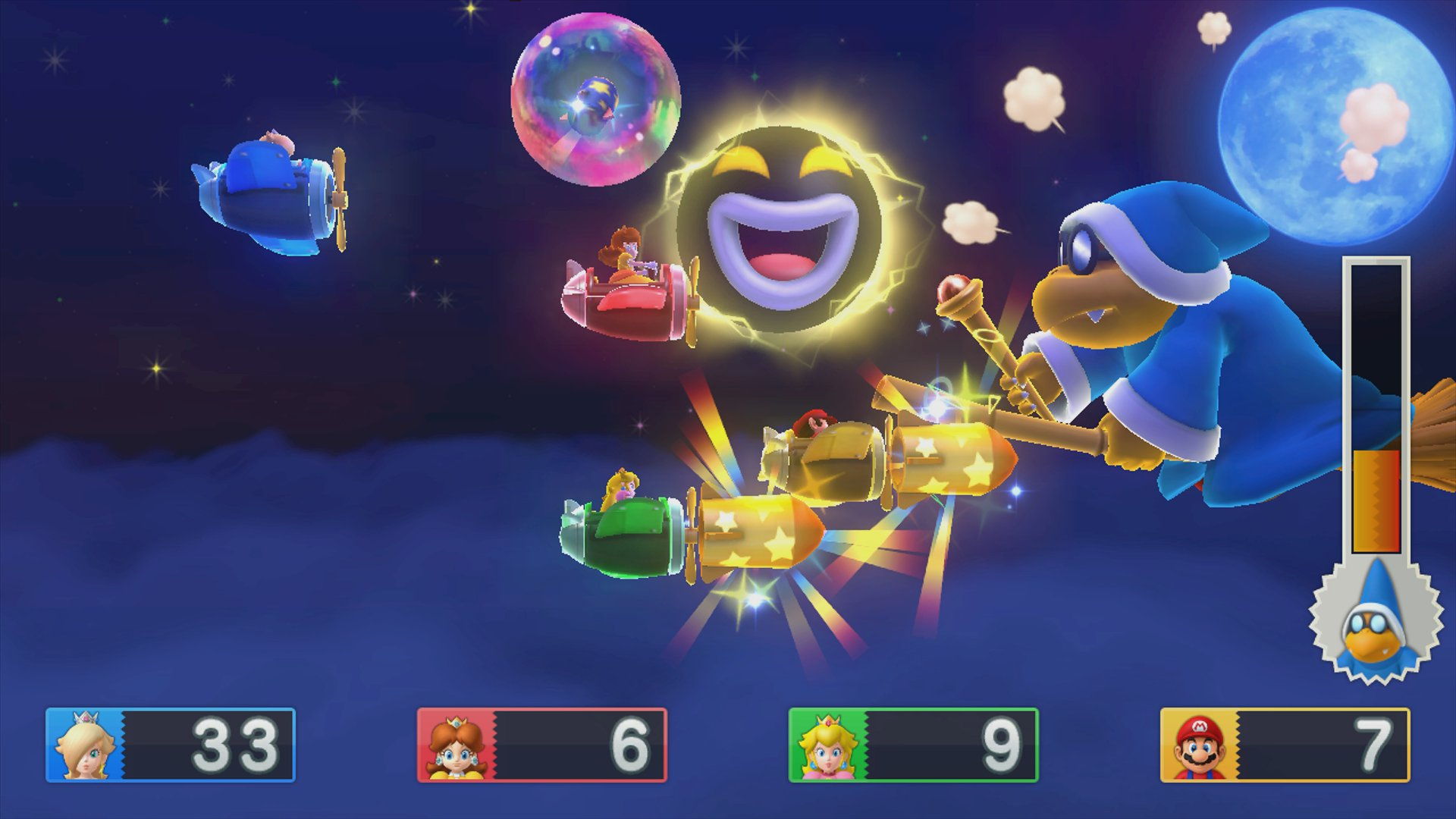 Mario Party 10 Edition Amiibo Mario in-game