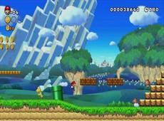 New Super Mario Bros. U in-game
