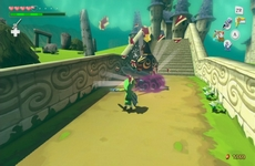 The Legend of Zelda : The Wind Waker HD in-game
