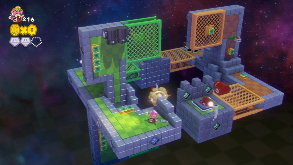 Captain Toad Treasure Tracker in-game