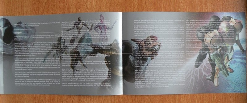 Livret Collector Metroid Prime Trilogy
