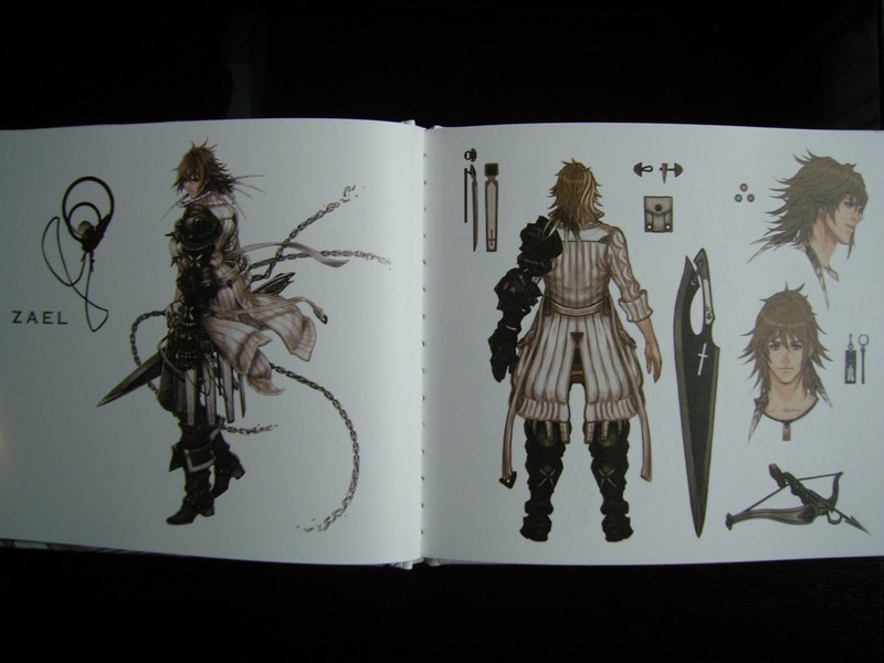 Artbook The Last Story - The Illustrations