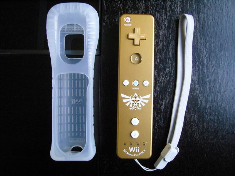 Wiimote Plus Zelda 25e Anniversaire