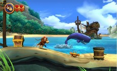 Donkey Kong Country Returns in-game