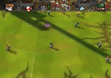 Mario Strikers Charged Football in-game