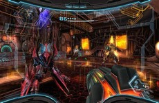 Metroid Prime Trilogy in-game