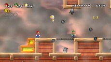 New Super Mario Bros Wii in-game