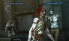 Resident Evil The Darkside Chronicles in-game