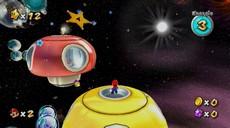 Super Mario Galaxy in-game