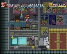 Super Paper Mario in-game