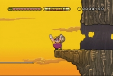 Wario Land : The Shake Dimension in-game
