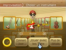 Wii Music in-game