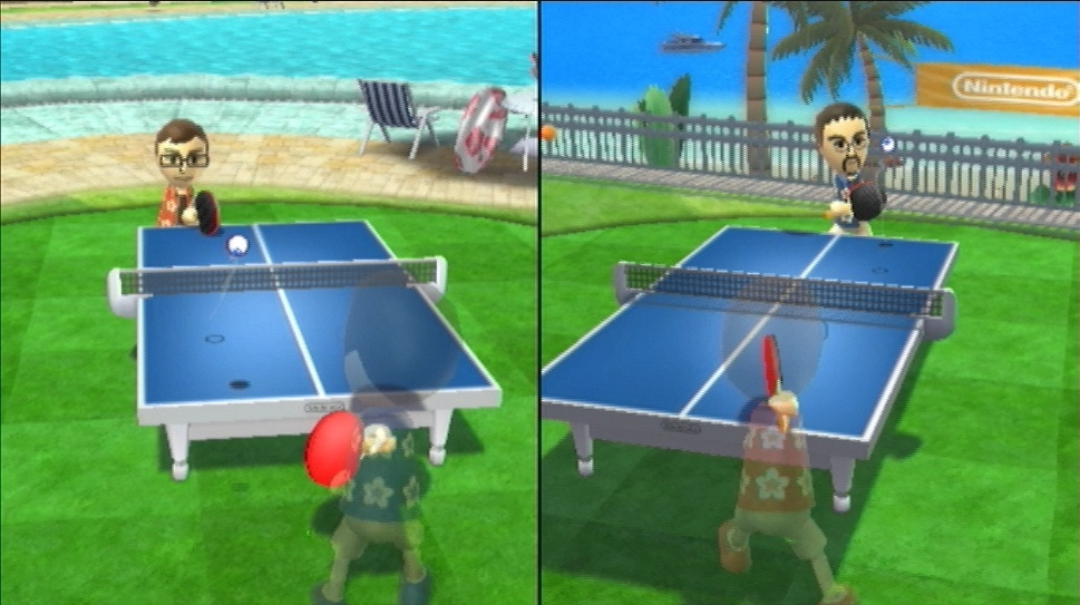 Wii Sports Resort in-game