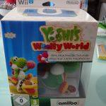 Yoshi's Woolly World Edition Amiibo Yoshi Laine Vert (2015)