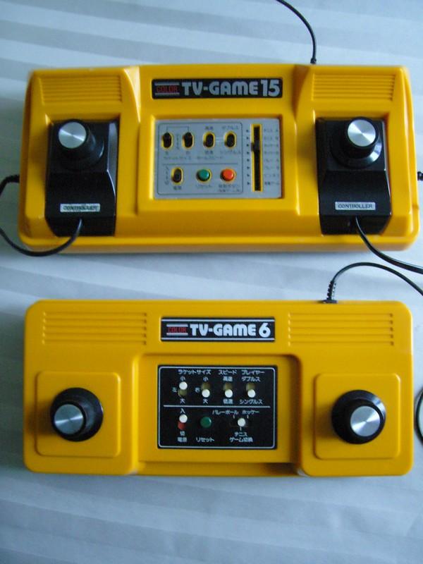 Comparaison Color TV-Game 6 et Color TV-Game 15