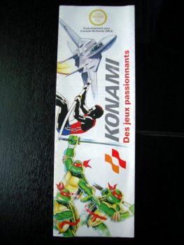 Dépliant Konami