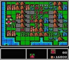 ファミコンウォーズ - Famicom Wars in-game
