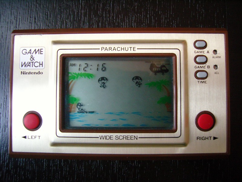 Game & Watch Parachute
