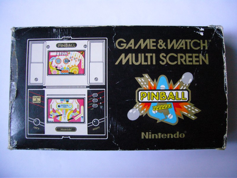 Game & Watch Pinball