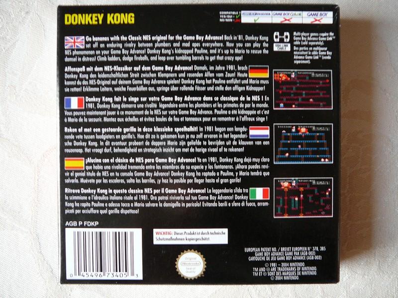 Donkey Kong NES CLASSICS