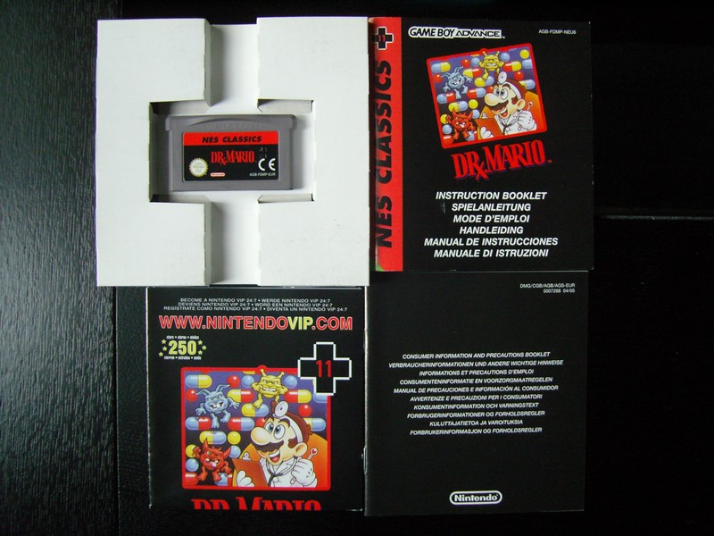 Dr Mario NES CLASSICS