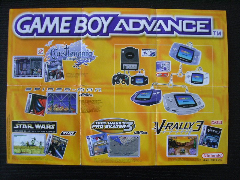 Publicité Game Boy Advance