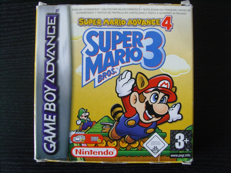 Super Mario Advance 4 : Super Mario Bros 3