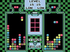 Dr Mario NES CLASSICS in-game