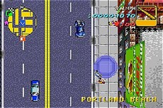 Grand Theft Auto in-game