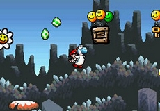Super Mario Advance 3 : Yoshi's Island in-game