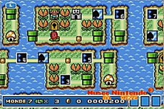 Super Mario Advance 4 : Super Mario Bros 3 in-game