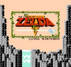 The Legend Of Zelda NES CLASSICS in-game