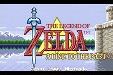 The Legend Of Zelda : A Link To The Past / Four Swords in-game