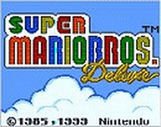 Super Mario Bros. Deluxe in-game