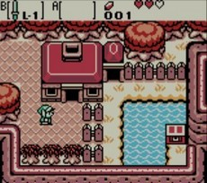 The Legend Of Zelda : Oracle Of Seasons in-game