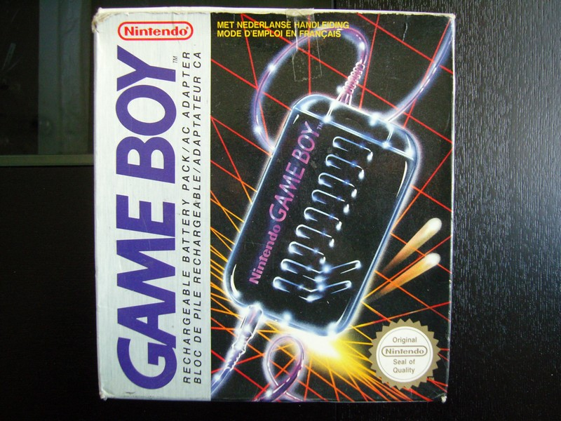 Bloc de pile rechargeable / Adaptateur CA Game Boy