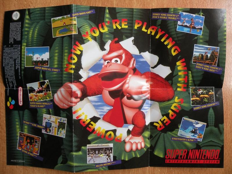 Publicité Super Nintendo
