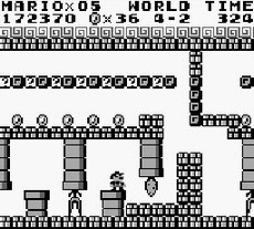 Super Mario Land in-game