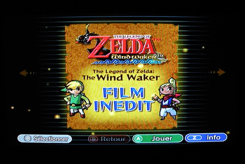 The Legend Of Zelda film inédit The Wind Waker (Collector's Edition)