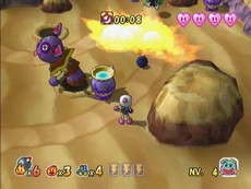 Bomberman Generation in-game