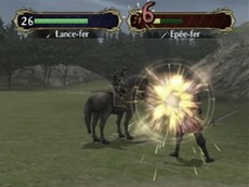 Fire Emblem Path Of Radiance in-game