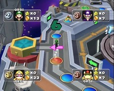 Mario Party 5 in-game