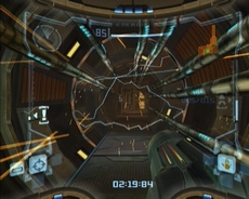 Metroid Prime in-game
