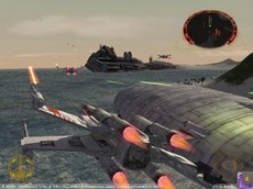 Star Wars Rogue Leader : Rogue Squadron II in-game