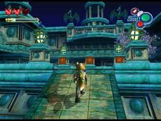 Starfox Adventures in-game