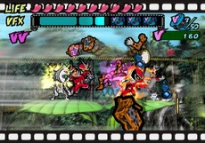 Viewtiful Joe 2 in-game