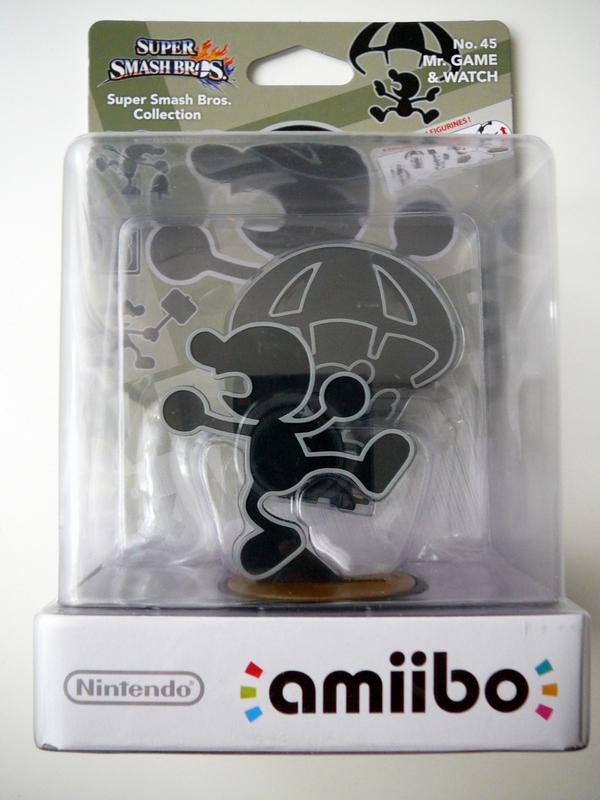 Amiibo n°45 Mr Game & Watch